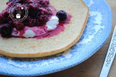 Een eenvoudig recept voor een glutenvrije koolhydraatarme amandelmeel pannenkoek