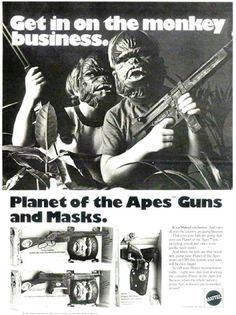 Planet of the Apes toys