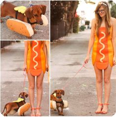 How hot is this hotdog costume