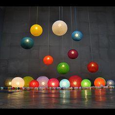 Happy Lights lampe Ø30 cm. Fås i mange forskellige farver. Køb happylights lamper online lige her kr. 239,-