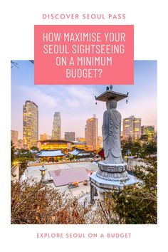 Want to explore Seoul on a budget? Then your first step when you land in South Korea should be to buy Discover Seoul Passes. The second step is to click the pin and go through this Seoul travel blog to learn how to maximize your Discover Seoul Passes to make the most savings. Get ready Seoul itineraries and get answers for where to buy Discover Seoul Passes, how to use Discover Seoul Passes, what attractions to cover under the passes & how to use the Discover Seoul Passes on the subway, etc. Cheap Travel, Budget Travel, Seoul Itinerary, Visit Seoul, Best Savings, Travel Information, South Korea, Statue Of Liberty, Travel Inspiration