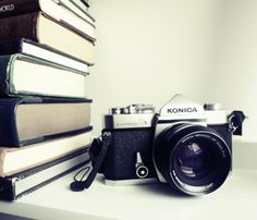 """Konica Film Camera. """"Some of the magic disappears when you can edit pictures on the spot on your laptop"""""""