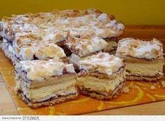 Pani Walewska to jedno z najlepszych polskich ciast. Polish Recipes, Polish Food, Food Cakes, Tiramisu, Ale, Cake Recipes, French Toast, Cheesecake, Food And Drink