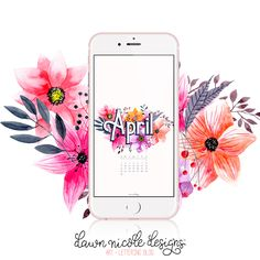 April 2017 Calendar + Tech Pretties. One of my most popular posts each month are these free pretty printables and calendars for your tech!