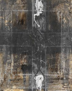 Antoni Tapies Paper with two marks. 1968. Acrylic, and chalk on paper, laid on canvas. Agusti 1829. 41 x 32,5 cm (16,1 x 12,7 in). PROVENANCE: Galerie Maeght, Paris (with fragments of gallery label on stretcher). Private collection. Estimate: € 16,000 / $ 19,200 Sold: € 20,000 / $ 24.000