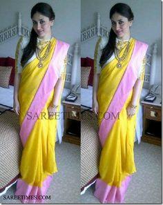Kareena in Masaba Gupta Sari