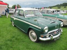 Austin A105 Westminster 1957 at Sherborne Castle classic car show