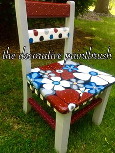 The DecorativePaintbrush designs by Mary Mollica turning everyday things into art