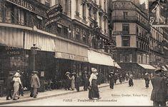 rue du Faubourg-Montmartre - Paris 9ème L'animation de la rue du Faubourg-Montmartre, vers 1900.