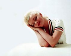 Marilyn,1955. By Milton Green.