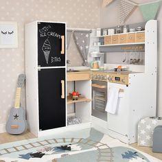 Sun Kinderküche Paris In Grau. Ein Echter Hingucker Mit Liebe Zum Detail:    Große