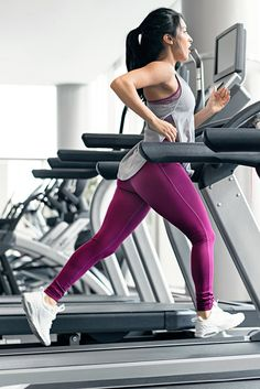 Train hard or go home. Jazmine Garcia wearing Sculpture in Plum and Breeze Vest