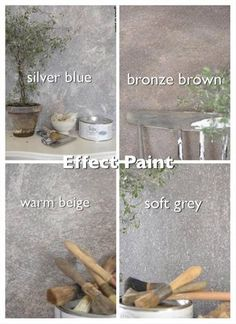 Handgeverfd Proefstukje Betonlook verf / Effect Paint Bronze Brown Primer Wit - My Industrial Interior Bronze Bedroom, Faux Walls, Paint Colors For Home, Painted Floors, Concrete Wall, Hanging Wall Art, Cheap Home Decor, Home Improvement, Painting