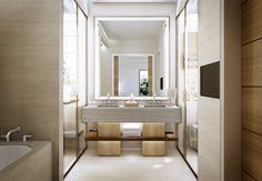 Separated spaces in the bathroom. By hawkinsinternationalpr,