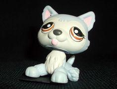 LITTLEST PET SHOP 1046 HUSKY Dog Pale Blue VGC Rare Original LPS #1046 in Toys & Games, Other Toys & Games | eBay