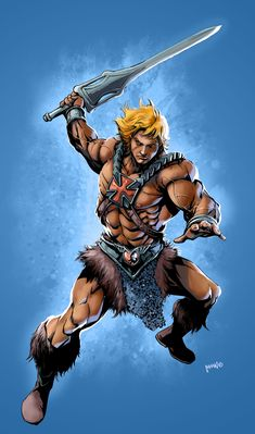 He-man!!! by popmhan.deviantart.com on @deviantART