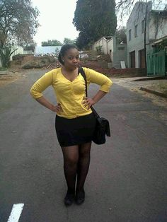 black and yellow..no make up needed