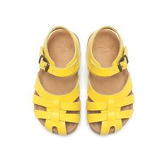Little girls yellow sandals - Zara Little Girl Shoes, Baby Girl Shoes, Little Girl Fashion, My Baby Girl, Toddler Fashion, Kid Shoes, Fashion Kids, Toddler Outfits, Girls Shoes