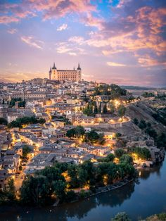 Alcázar of Toledo, Spain. Once used as a Roman palace in the 3rd century, it was restored under Charles I (Holy Roman Emperor Charles V) and his son Philip II of Spain in the 1540s.