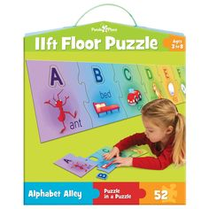 Alphabet Alley - 52 Piece Floor Jigsaw Puzzle