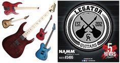 Legator Guitars: quinto aniversario en la NAMM 2017 y nuevos modelos
