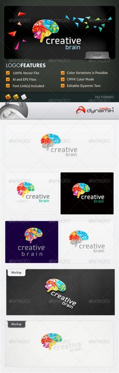 Creative Brain - Logo Template