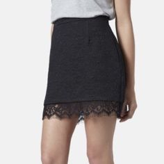 Black Tight Skirt Great black skirt that can be dressed up or down! Great quality! H&M Skirts