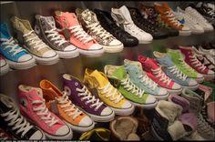 converse shoes schuhe stuck colorful farbig bunt zurich z� | Stuck on Converse by Chris | openphoto.net (BETA)