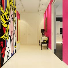 Contemporary Pop Art Interior   by Dmitriy Schuka