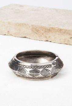 Etched Hinge Bracelet - Accessories - Bracelets - 1000142877 - Forever 21 UK