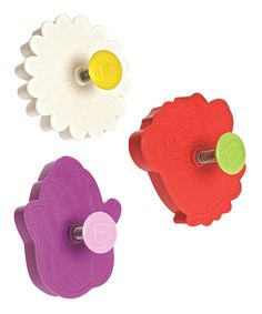 Look at this Flower Plunger Cutter Set on #zulily today!