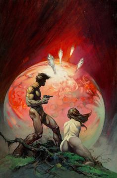 Red Planet by Frank Frazetta, 1974 - Imgur