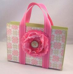 Breast Cancer Awareness Pink Floral Gift by CardsandMoorebyTerri on etsy.