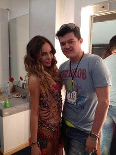 Belinda en los Kids Choice Awards Mexico 2012 - Backstage 01