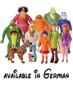 """Scooby-Doo Mystery Inc.. Actionfiguren - Action-Figuren und andere Pack-. Colours and styles may vary. sizes appox 5"""", some bigger then this and some small #Toy #TOYS_AND_GAMES"""