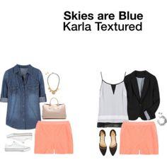 Skies Are Blue Karla Textured