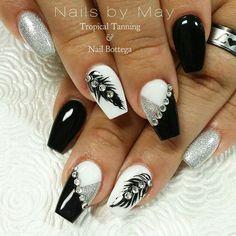 Trends Lack: Nägel Trends Lack: Nails – Related posts: Beautiful pink nails # nail ideas # nail polish # colors # 2019 # trends Nail Art Trends 2018 # Schöne Acrylnägel – WooHoo – First coat of paint Black Nail Designs, Beautiful Nail Designs, Beautiful Nail Art, Gorgeous Nails, Nail Art Designs, Beautiful Pictures, Fancy Nails, Cute Nails, Pretty Nails