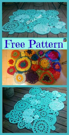 10 Awesome Crochet Rug from Shirts Free Patterns #freecrochetpatterns #crochetrug #repurposediy