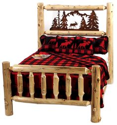 'The Wilderness' Bed