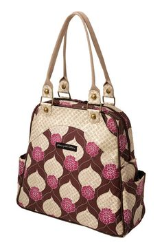 Disney, It's a Small World by Petunia Pickle Bottom 'Sashay Satchel' Organic Cotton Diaper Bag available at #Nordstrom