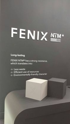 It's FENIX NTM  @ Interzum. Design by ArpaLab.