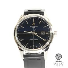 #Breitling #Transocean Gents Stainless Steel Automatic #Watch