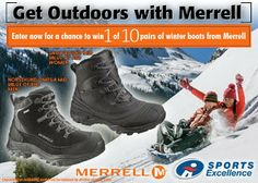 Sweepstakes - Win A Pair Of #Merrell Boots - CANADA