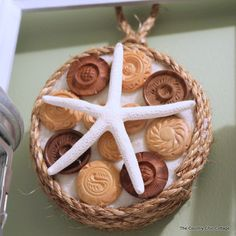 Quick and Easy Nautical Art - * THE COUNTRY CHIC COTTAGE (DIY, Home Decor, Crafts, Farmhouse)