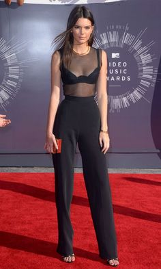 Kendall Jenner opted  La Perla bra