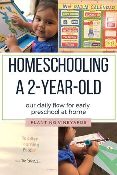 Homeschooling a 2-Year-Old || Early Preschool at Home