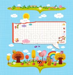 Hello autumn. Design elements for notebook. bubble note paper royalty-free stock vector art
