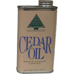 Giles & Kendall Cedar Oil - OIL 12-8