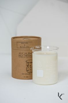 Koskela's Christmas Gifts: For the Design Lover // Lychee and Black Tea Beaker Candle