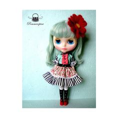 Miss Polly had a Dolly ❤ liked on Polyvore featuring dolls and blythe